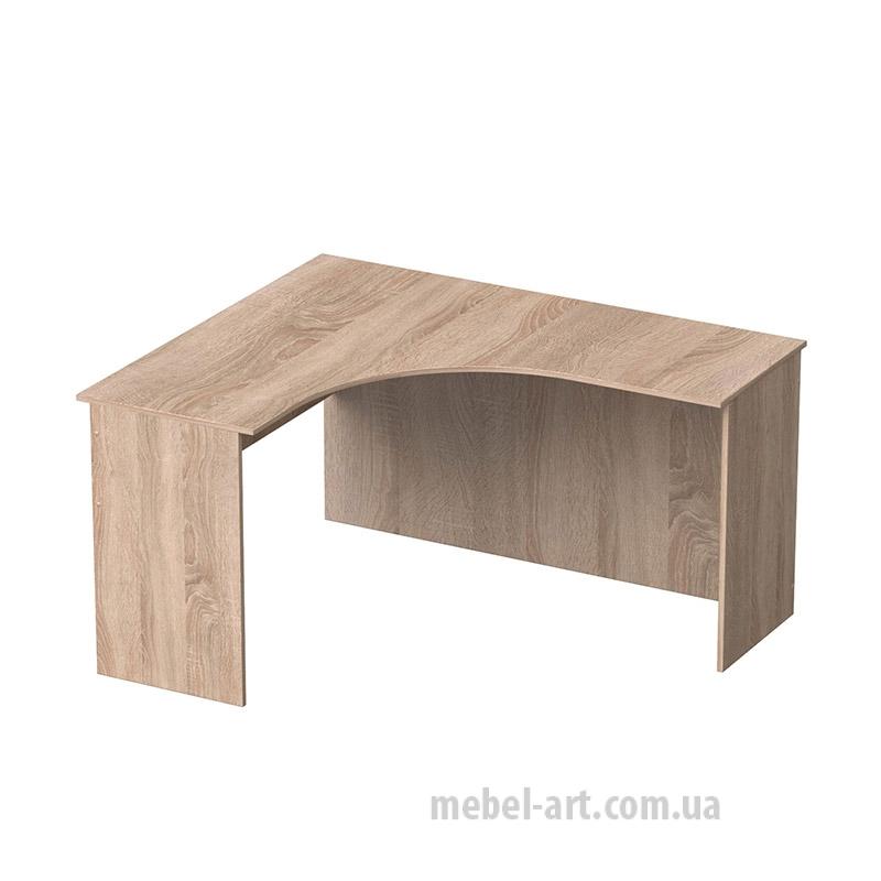 офисный стол угловой без ящиков
